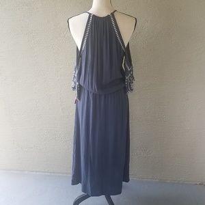 Xhilaration Dresses - NWT! Xhiliration Women's Blue Boho Maxi Dress